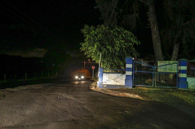 Hogares Crea en Dulce Nombre de Tres Rios, Cartago where the incident occurred Saturday night. Photo:  Mayela Lopez, La Nacion