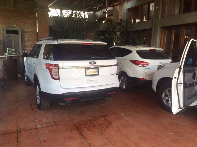 OIJ seize high vehicles stolen in Costa Rica and Panama during raid of Moravia home