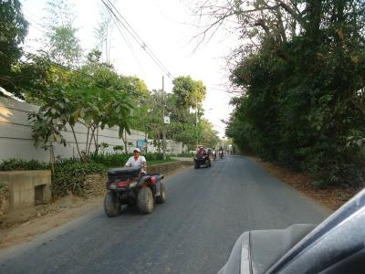Quads driving in Santa Teresa