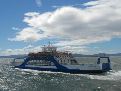 Taking the ferry to the Nicoya Peninsula