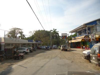 The road in Playa Carmen