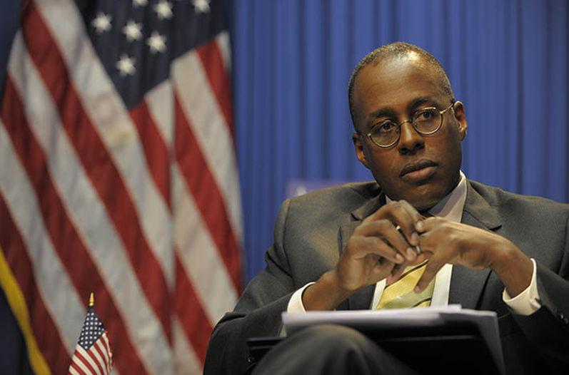 Stafford Fitzgerald Haney, embajador de Estados Unidos en Costa Rica. (José Díaz)