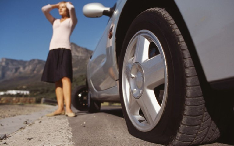 Don't Fall Victim To The Flat Tire Scam, OIJ Says