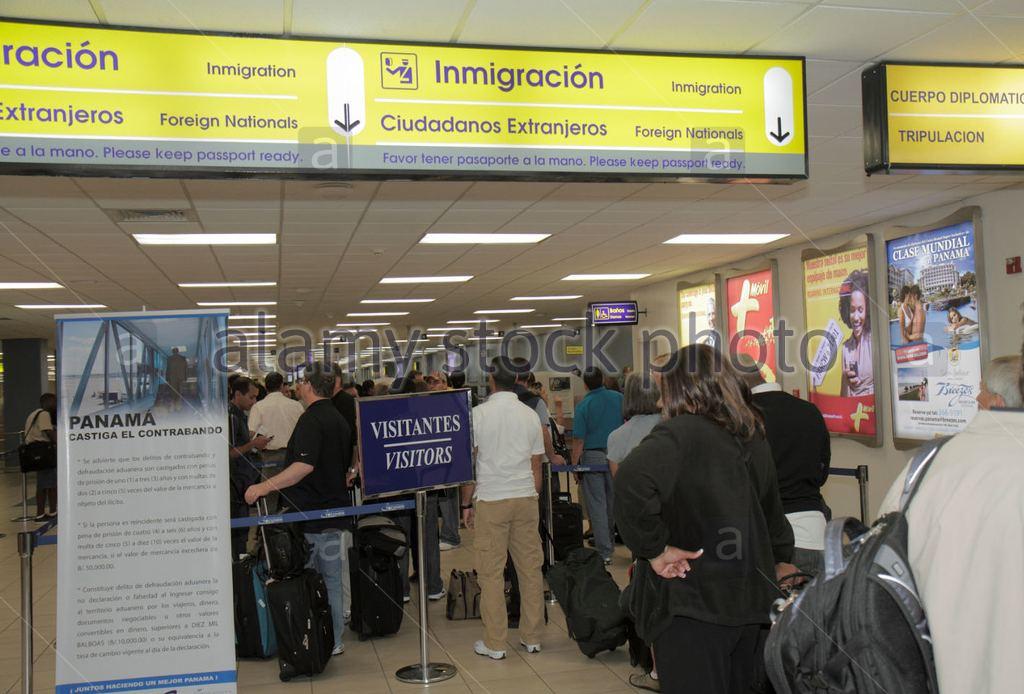 Panama international airport. Photo Alamy