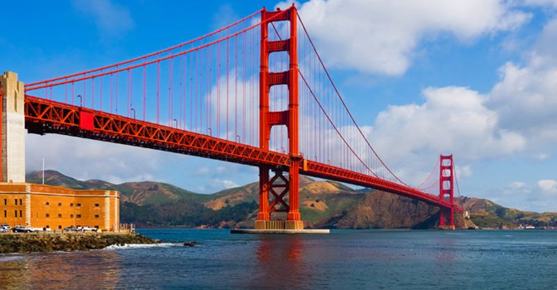 The Golden Gate bridge San Francisco, California. San Fransico de Heredia is not California, but read Chirstopher Howard's reason why it just might better.