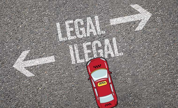 Taxis Are Also Illegal