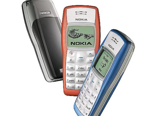 1100. Launched in 2003, this is Nokia's bestselling phone of all time, with over 250 million people purchasing one