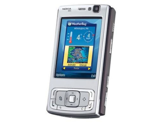N95. Launched in March 2007 - mere months before the iPhone turned the mobile phone market on its head - this had a FIVE MEGAPIXEL camera and Wi-Fi