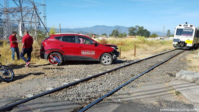 Train - car collision Wednesday morning in Tres Rios
