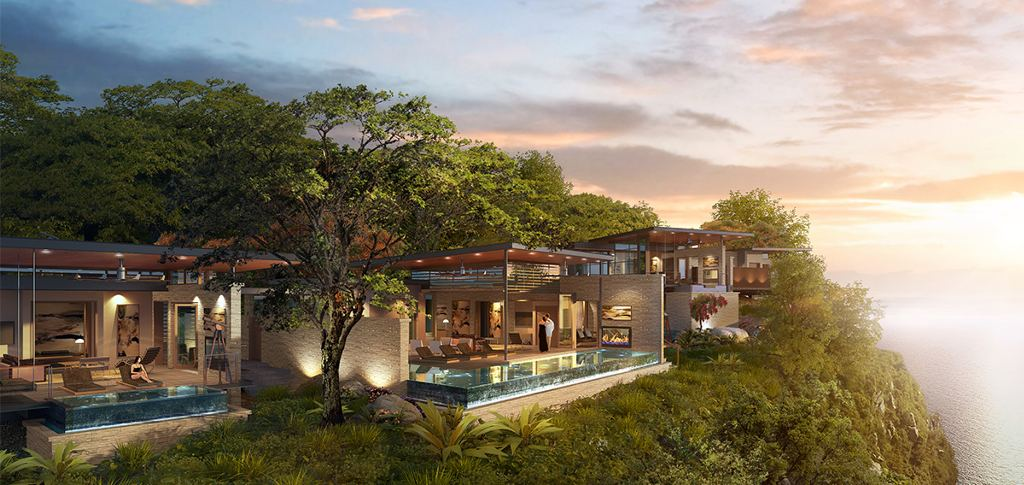 The Rosewookd Papagayo will be a secluded sanctuary overlooking the Gulf of Papagayo, in Costa Rica's Guanacaste province.