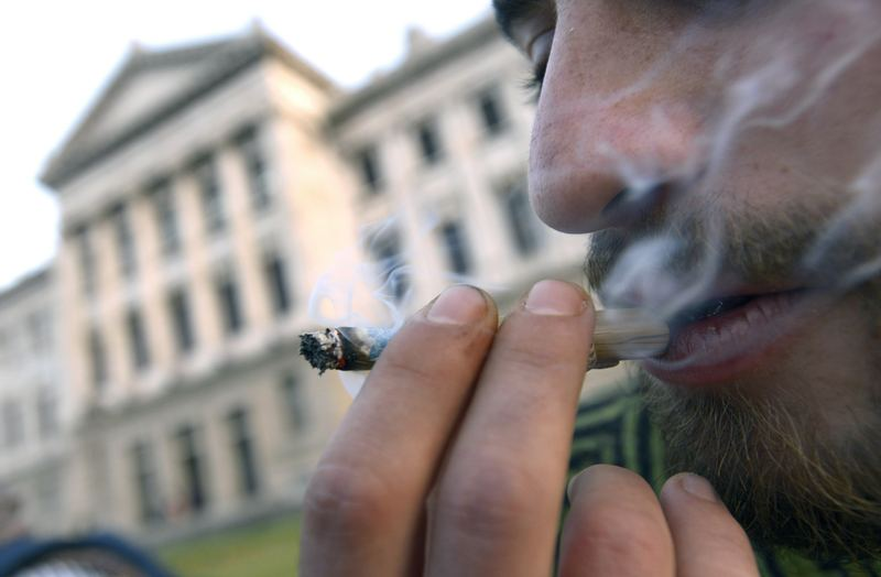 Uruguayan pot is now legal, and state-run (AP Photo/Matilde Campodonico)