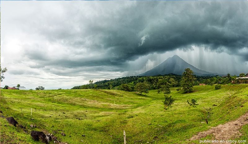 Arenal today