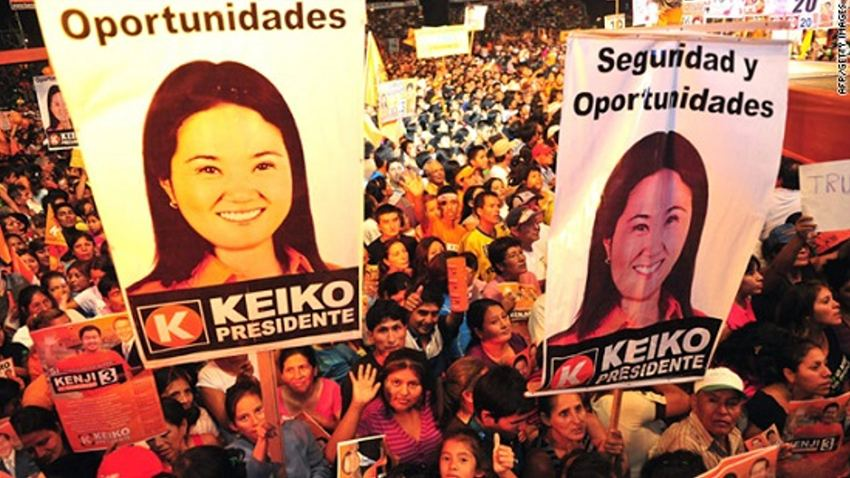 Keiko Fujimori will likely win the 2016 Peruvian presidential elections scheduled for this April. She is the daughter of deposed president Alberto Fujimori, who became one of the first heads of state to be convicted of human rights violations in Latin America.