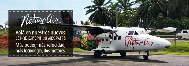 Costa Rica In Country Flights For Only ¢2.500 (plus taxes) One Way