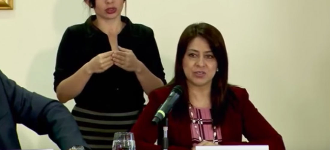 Kathya Rodriguez, head of Costa Rica's immigration service, is on loan from the Defensoria de los Habitantes