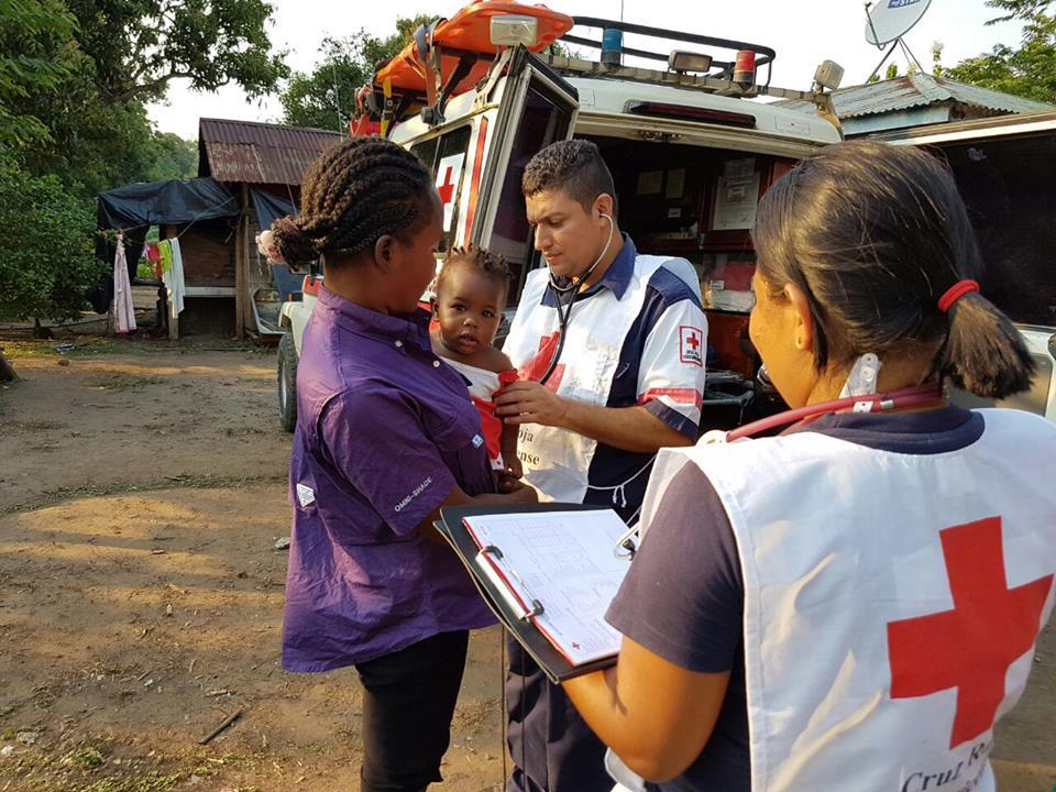 The Cruz Roja attends to some 300,000 incidents a year