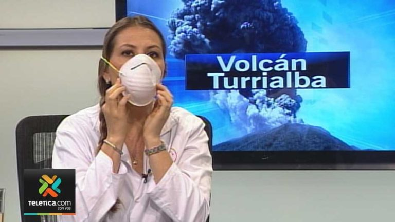 Face Masks Recommended With The Presence Of Ash Fall From Volcano Eruption