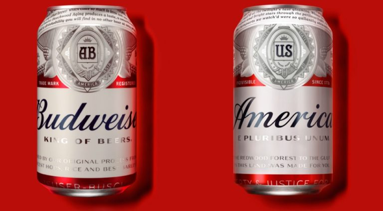 Budweiser is changing its name to America!
