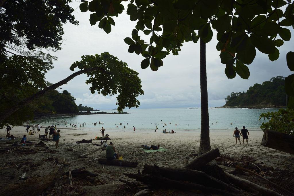 A beach at Manuel Antonio National Park. (Jonathan Kingston)