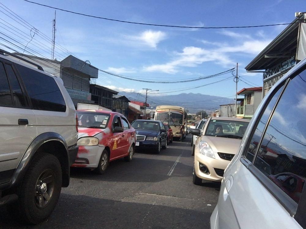 San Jose daily traffic congestion.