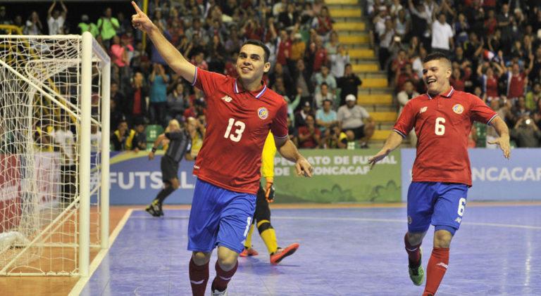 Costa Rica Beats Canada 3-2  in 2016 Futsal Championship Play