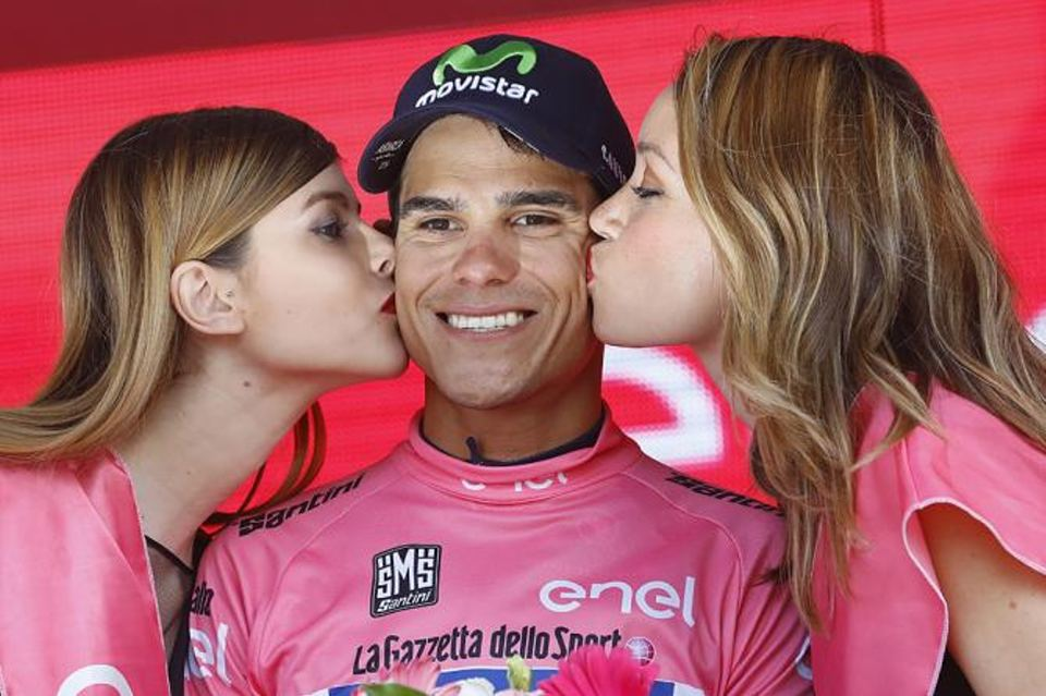 The winning smile of Andrey Amador