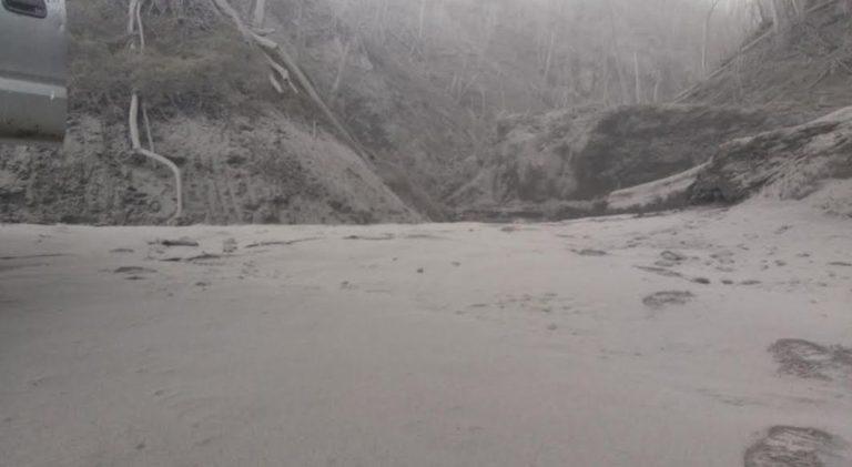 Constant Ash Emissions Continue At The Turrialba Volcano