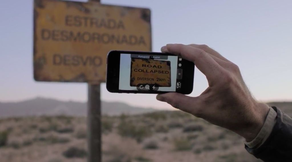 With Google translate and your smartphone's camera translate text instantly in 29 languages, on or offline.