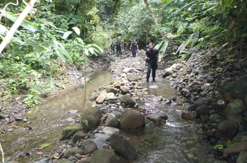 For twelve days in July 2014, the patrols were in different sectors of the park to find the Canadian, but found not a single trace of the missing. Archive. (Red Cross GN)