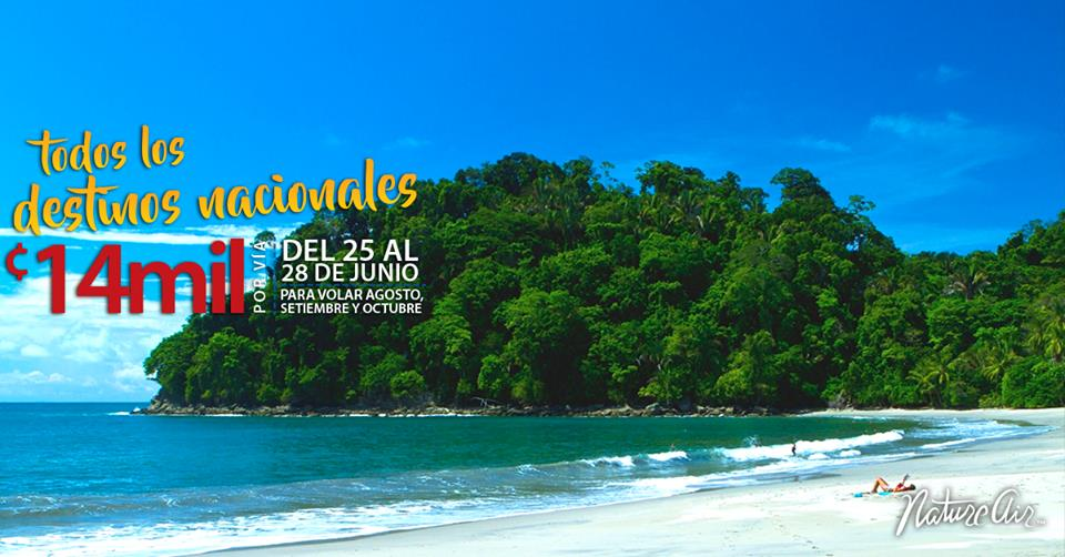 Some restrictions apply, price only valid for nationals and residents of Costa Rica