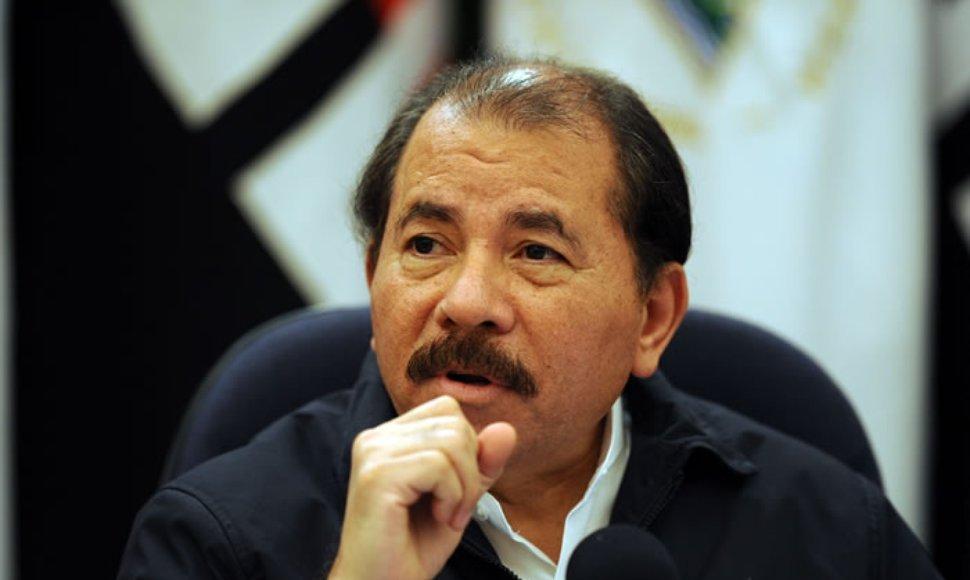 Nicaragua president Daniel Ortega. File photo