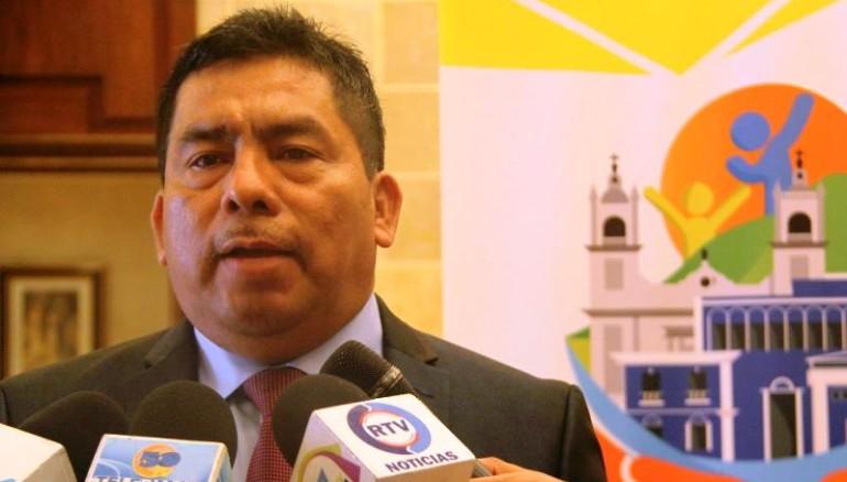 Accused mayor of Apopa, José Elias Hernández