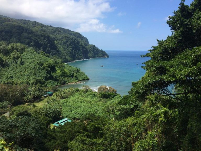 Helicopter Ride Over Cocos Island, Costa Rica  (Video)