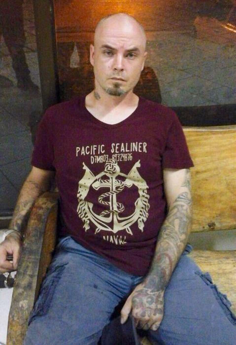 Saatio estuvo detenido en la delegación de la Fuerza Pública en Jacó, Puntarenas. (Prensa MSP.)