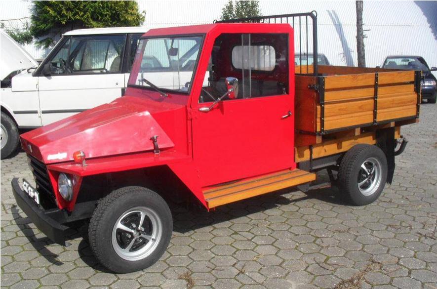 Fotografía tomada de Autos Cozot / Vehículo GM Amigo, ensamblado en Costa Rica