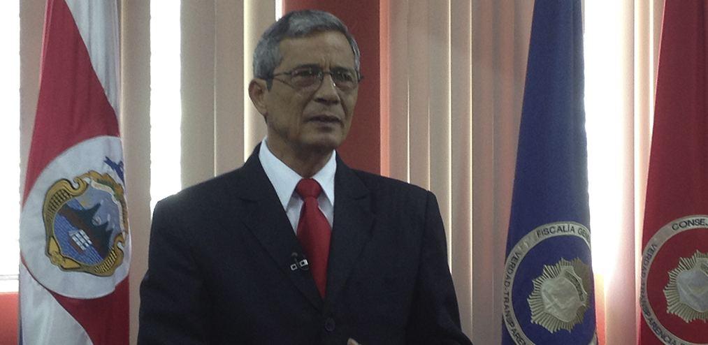 Costa Rica's Attorney General, Jorge Chavarria
