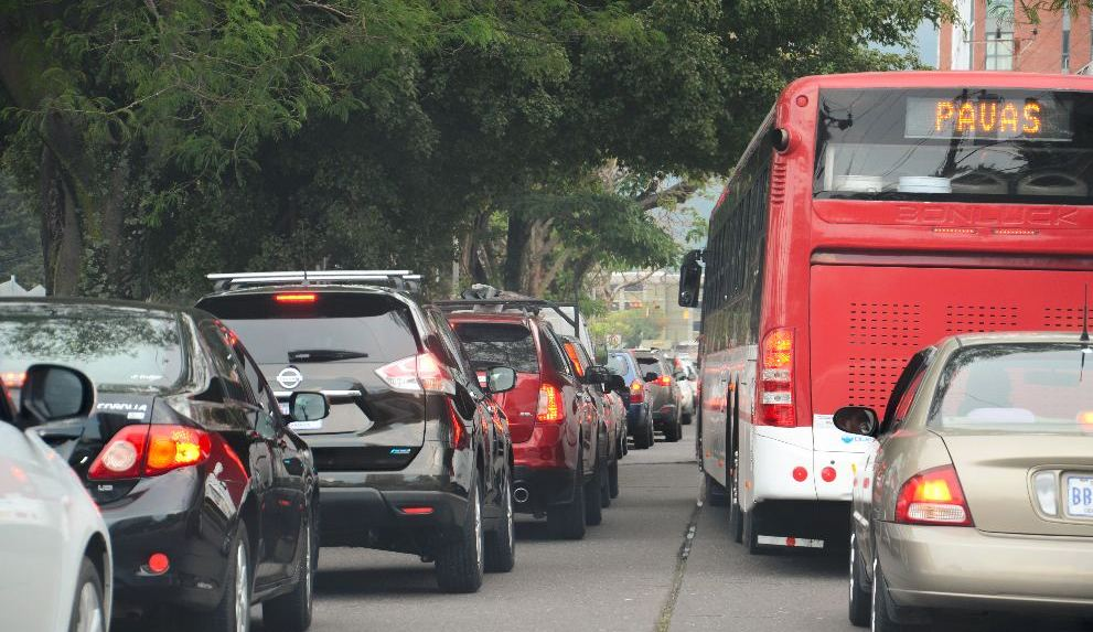 Traffic chaos is a daily thing in the Greater Metropolitan Area (GAM) of San Jose.