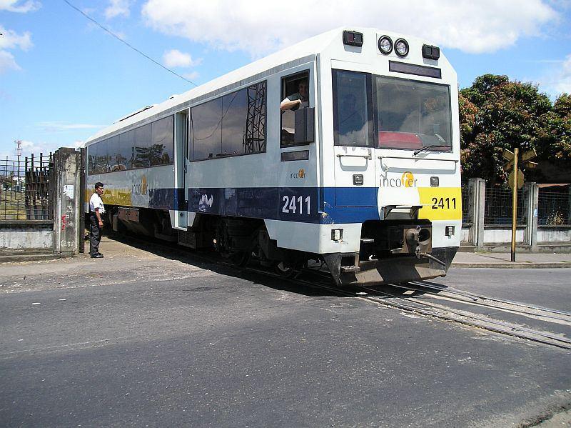 """The """"Apollo"""" trains in use in Costa Rica."""