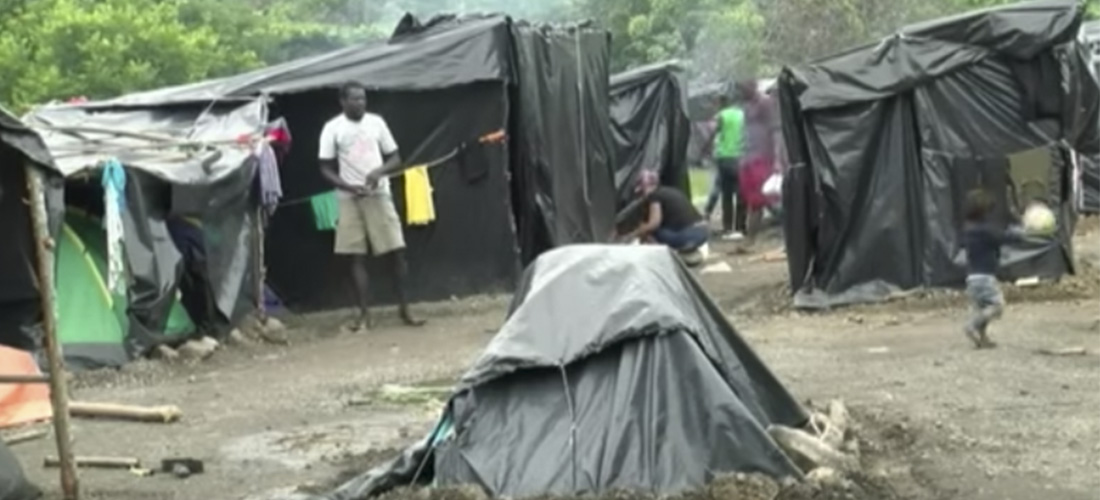 African migrants camped out at the Peñas Blancas border are living a nightmare, waiting, hoping Nicaragua will let them pass through their country