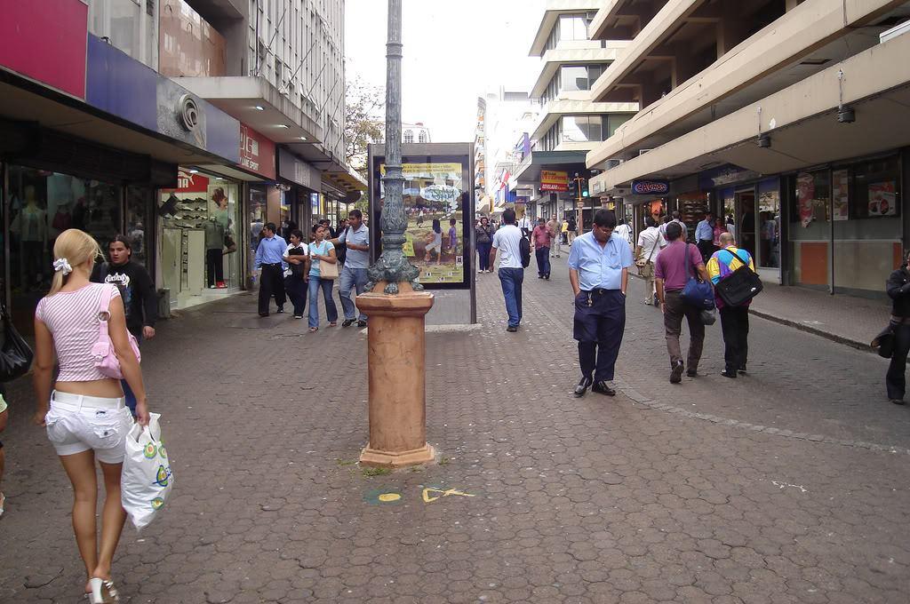Avenida Central (Bulevar) downtown San Jose