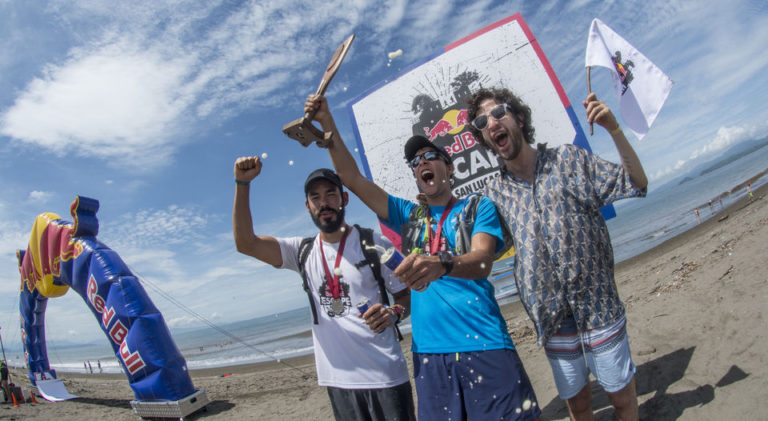 Red Bull Challenged 158 Athletes To Escape San Lucas Island