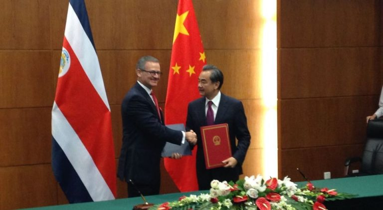 Costa Rica and China Reaffirm Ties And Put Behind Them The Recope – CNPC Issues