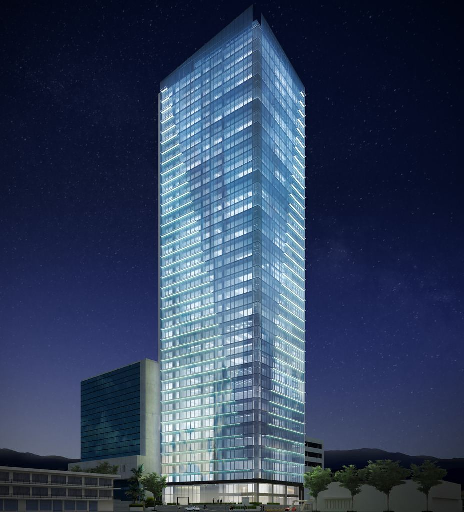 Torre 40 will be built on Paseo Colon, next to the Mercedes building and will, at 40 stories, be the tallest building in the country...until the Sabana Capital gets done.