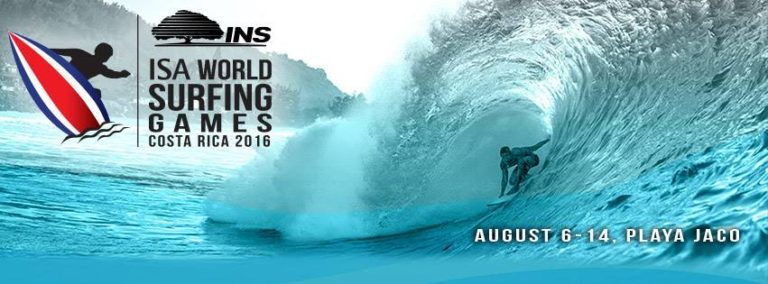 Jaco Beach World Surfing Games 2016  From August 6 to 14
