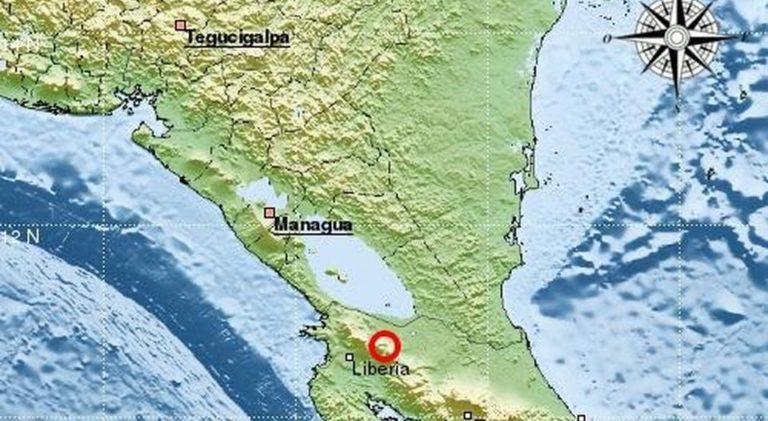 Strong Quake Rocks Costa Rica's North Saturday Night