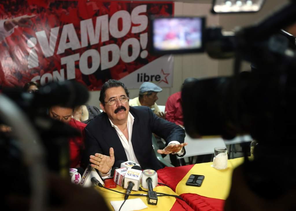 Former president of Honduras, Manuel Zelaya, denies making the statement  but it was recorded