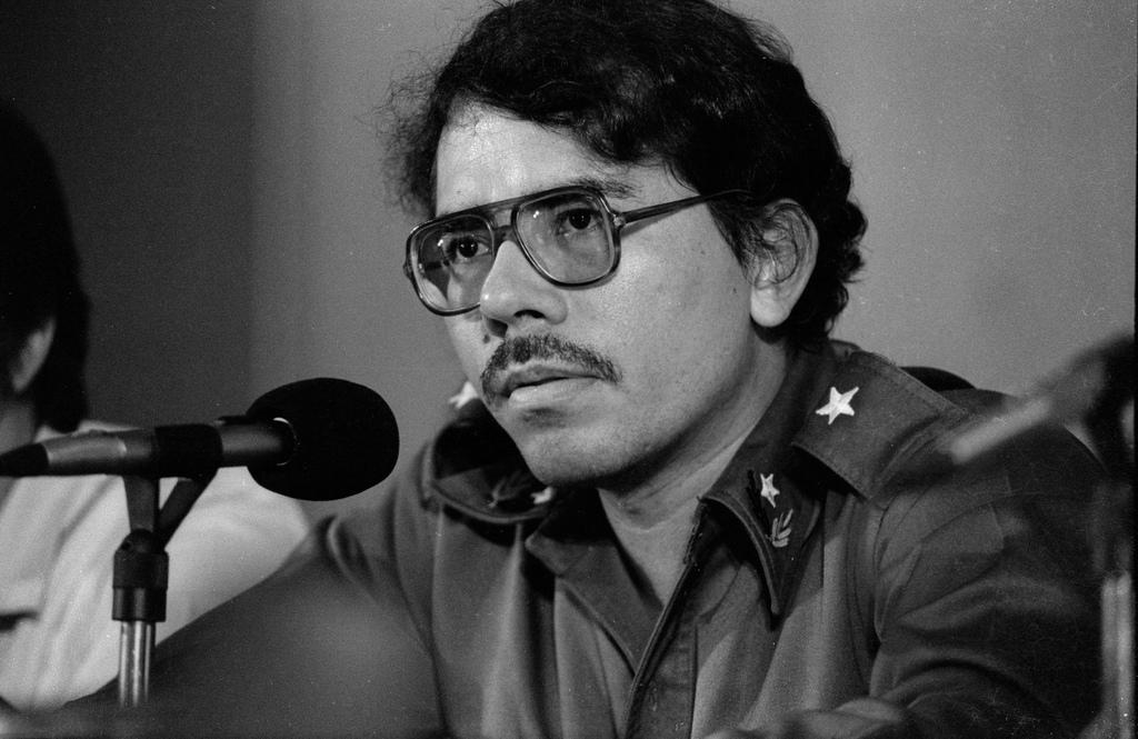Pictured is a young José Daniel Ortega Saavedra. He will be 71 on November 11.