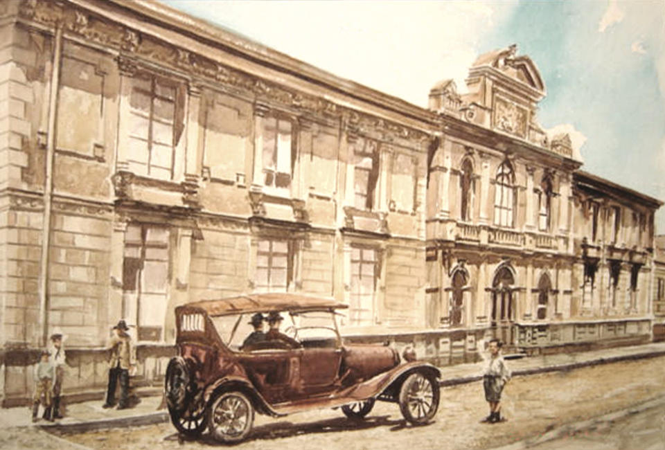 San Jose in 1920. What is that? By 1924 the government faced the problem of too many cars on the roads