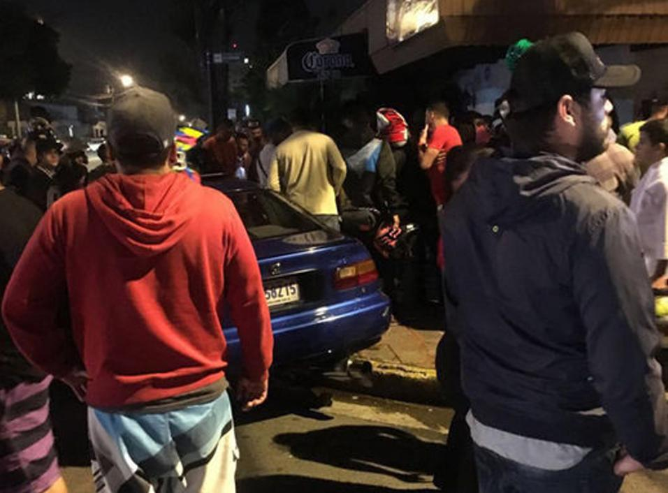 Photos of the accident from Policias de Costa Rica.