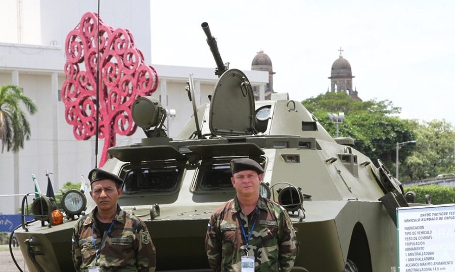 On Monday, Nicaragua showed off the first of 50 Russian tanks it confirmed purchasing